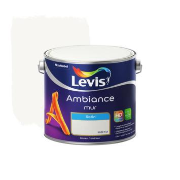 Levis Ambiance muurverf zijdeglans fuji 2,5L