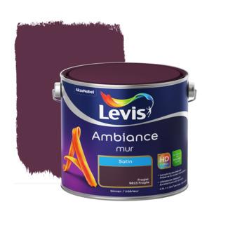 Peinture Ambiance Mur Levis satinée 2,5 L fragile
