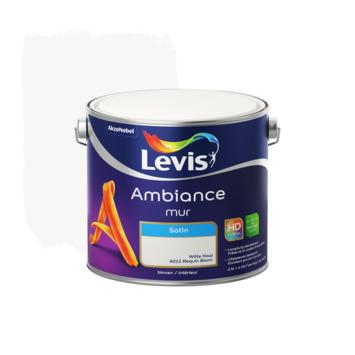 Levis Ambiance muurverf zijdeglans witte haai 2,5L