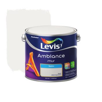 Peinture Ambiance Mur Levis satinée 2,5 L épeautre