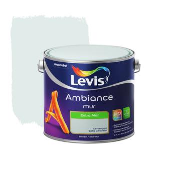 Peinture Ambiance Mur Levis extra mate 2,5 L citronnelle