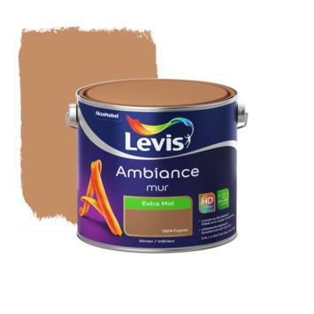 Peinture Ambiance Mur Levis extra mate 2,5 L cognac