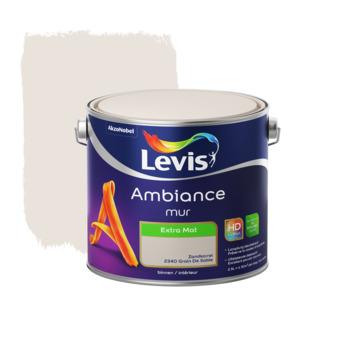 Peinture Ambiance Mur Levis extra mate 2,5 L grain de sable