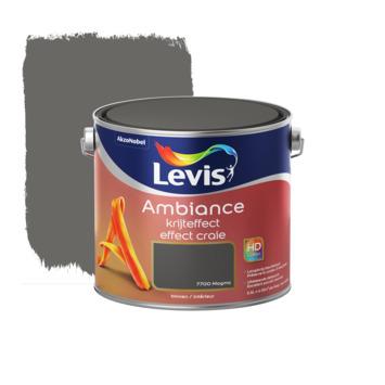 Peinture effet craie Ambiance Levis 2,5 L magma