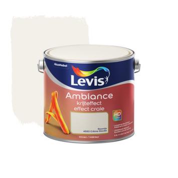 Levis Ambiance muurverf krijteffect roomijs 2,5L