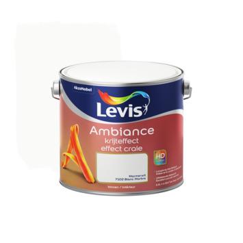Peinture effet craie Ambiance Levis 2,5 L blanc marbre
