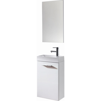 Atlantic toiletmeubel Esme inclusief spiegel wit