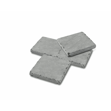Terrastegel Bluestone Vietnam Getrommeld Blauw 20x20x2 cm - 425 Tegels / 17,0 m2