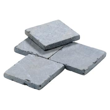 Terrastegel Bluestone Vietnam Getrommeld Blauw 15x15x2 cm - 755 Tegels / 17,36 m2