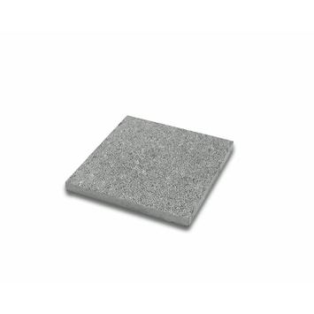 Terrastegel Bluestone Gebouchardeerd Blauw 40x40 cm - 6 Tegels / 0,96 m2