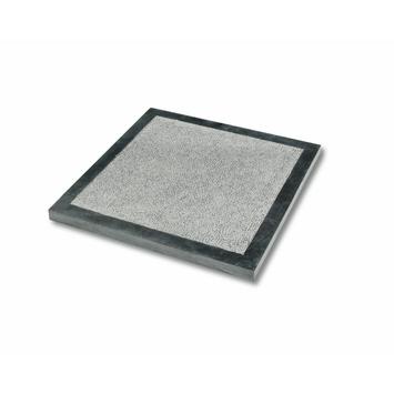 Terrastegel Bluestone Gebouchardeerd Blauw met Border 30x30 cm - 11 Tegels / 1,09 m2