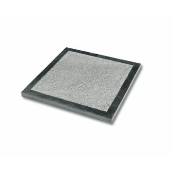 Terrastegel Bluestone Gebouchardeerd Blauw met Border 40x40 cm - 6 Tegels / 0,96 m2