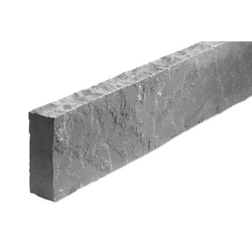 Boordsteen Natuursteen Kandla Grey Grijs 100x15x5 cm