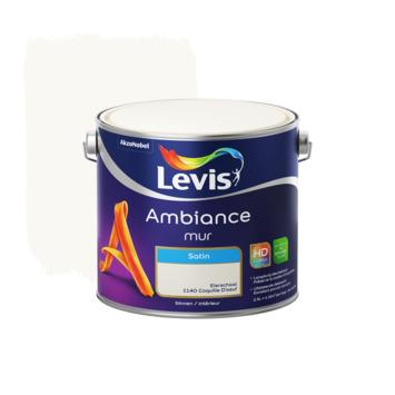 Peinture Ambiance Mur Levis satin coquilled'œuf 2,5 L