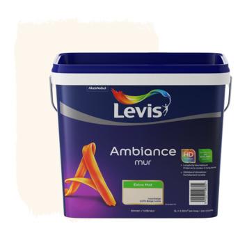 Levis Ambiance muurverf extra mat ivoorbeige 5 L
