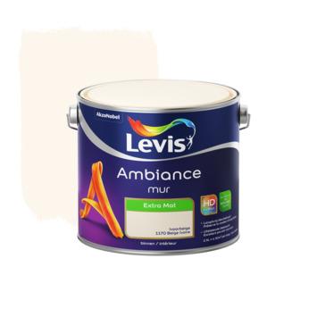 Peinture Ambiance Mur Levis Extra Mat Beige Ivoire 2 5 L