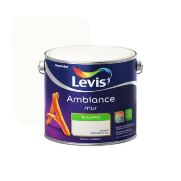 Peinture Ambiance Mur Levis extra mat blanc lys 2,5 L