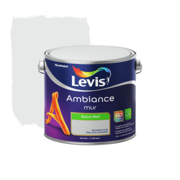 Levis Ambiance muurverf extra mat versailles grijs 2,5 L