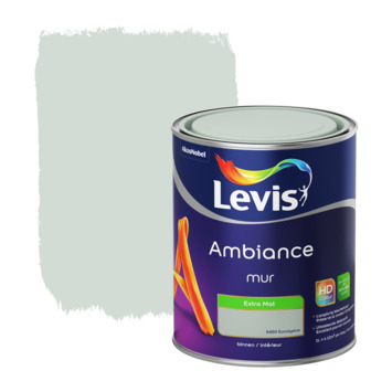 Peinture Ambiance Mur Levis extra mat eucalyptus 1 L