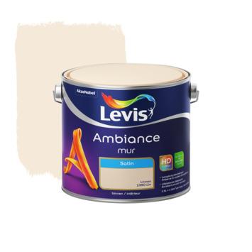 Levis Ambiance muurverf zijdeglans linnen 2,5 L