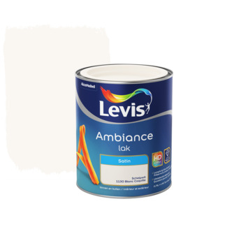 Laque Levis Ambiance blanc coquille satiné 750 ml