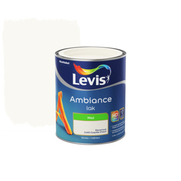 Laque Levis Ambiance mat 750 ml coquille d'oeuf