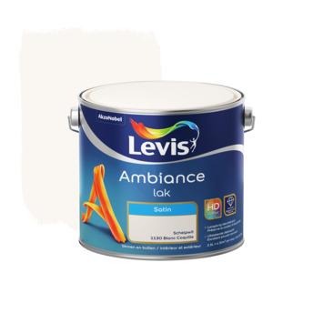 Levis Ambiance lak zijdeglans schelpwit 2,5 L