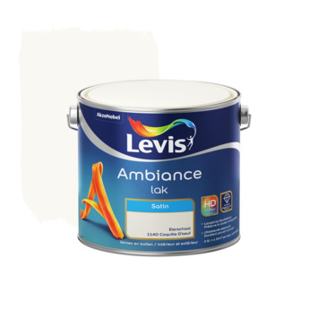 Laque Levis Ambiance coquille d'oeuf satiné 2,5 L