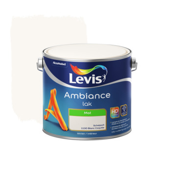 Laque Levis Ambiance mat 2,5 L blanc coquille