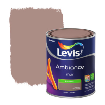 Levis Ambiance muurverf extra mat chocolade 1 L