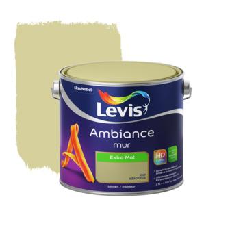 Peinture Ambiance Mur Levis extra mat olive 2,5 L