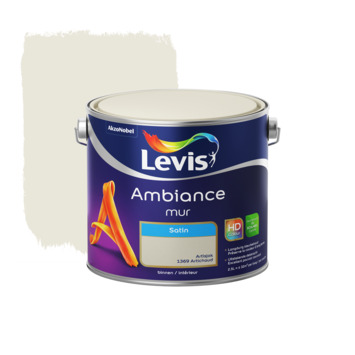 Peinture Ambiance Mur Levis satin artichaut 2,5 L