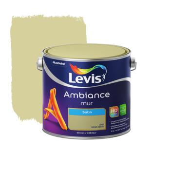 Levis Ambiance muurverf zijdeglans olijf 2,5 L