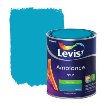 Peinture Ambiance Mur Levis extra mat azure 1 L