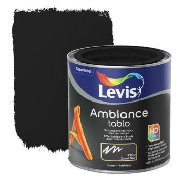 Peinture Ambiance Tablo Levis mat 250 ml blackboard black