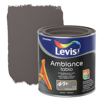 Levis Ambiance Tablo schoolbordverf mat pinstripe grey 250 ml