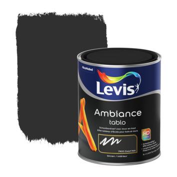 Peinture Ambiance Tablo Levis mat 1 L blackboard black