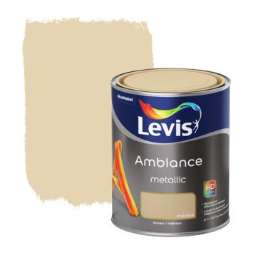 Peinture Ambiance Mur Levis metallic gold 1 L