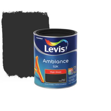 Laque Levis Ambiance stiletto black brillant 750 ml