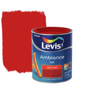 Laque Levis Ambiance rouge japonais brillant 750 ml