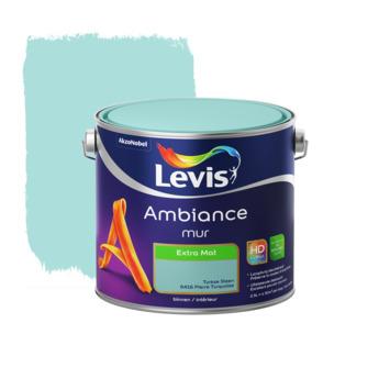 Peinture Ambiance Mur Levis extra mat pierre turquoise 2,5 L