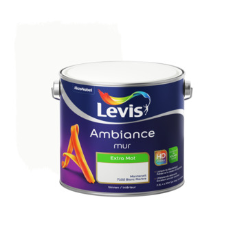 Levis Ambiance muurverf extra mat marmerwit 2,5L