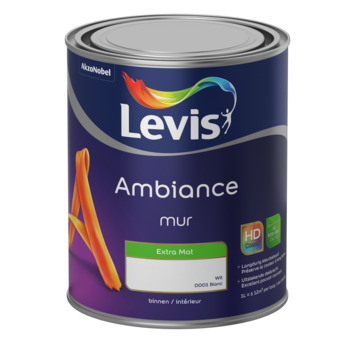 Levis Ambiance muurverf extra mat wit 1L