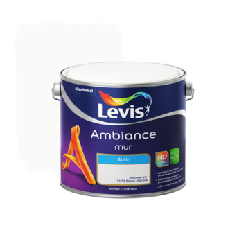 Levis Ambiance muurverf zijdeglans marmerwit 2,5L