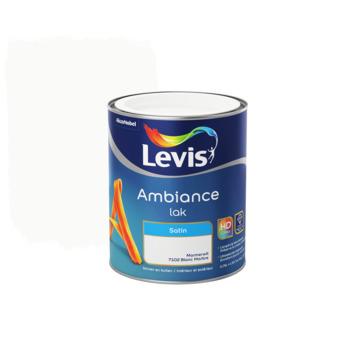 Laque Levis Ambiance blanc marbre satiné 750 ml