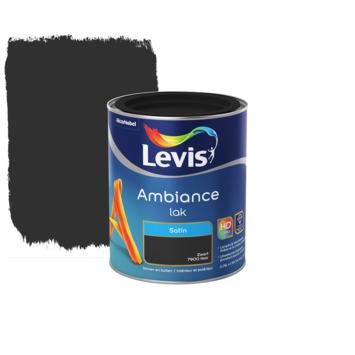 Laque Levis Ambiance noir satiné 750 ml