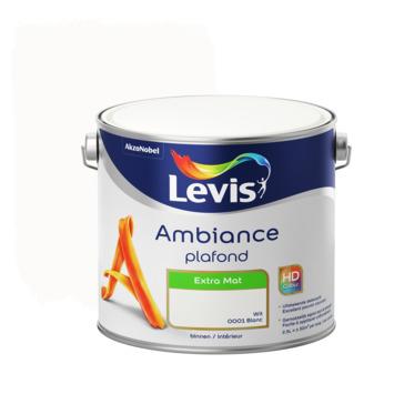 Peinture Ambiance Plafond Levis extra mat blanc 2,5 L