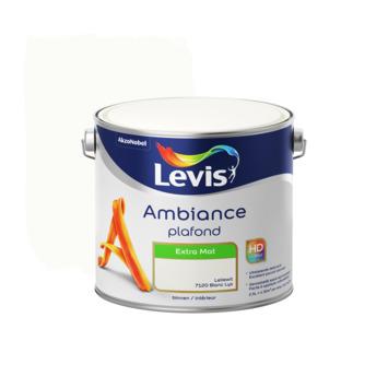 Peinture Ambiance Plafond Levis extra mat 2,5 L blanc lys