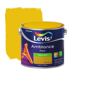 Peinture Ambiance Mur Levis extra mat madras 2,5 L