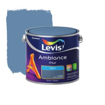 Peinture Ambiance Mur Levis satin ouragan 2,5 L